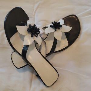Nine West sandals with heels
